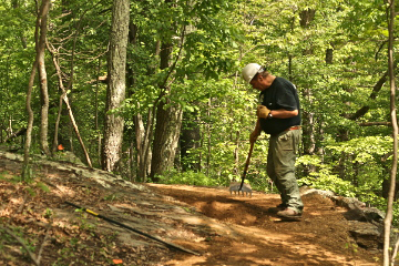 Building a section of the Applachian Trail